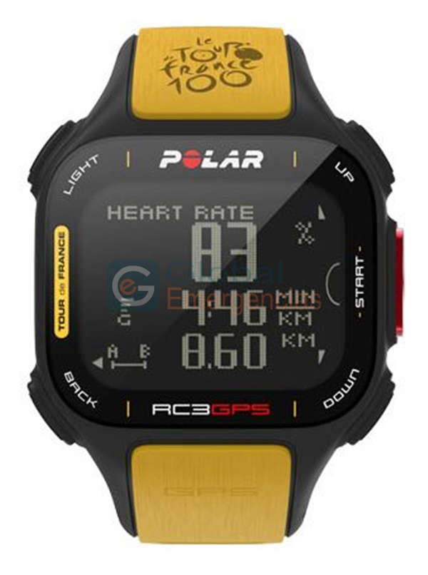 PULSÓMETRO RC3 GPS TDF BIKE